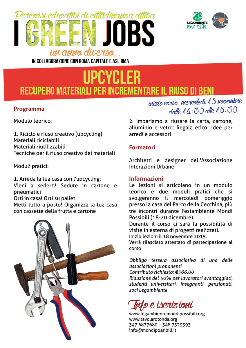 Upcycling 2015