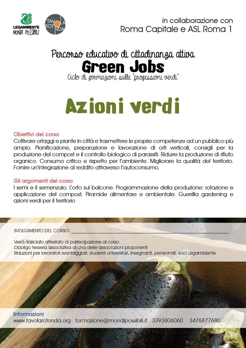 Azioni verdi
