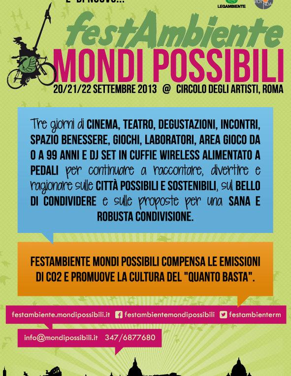 Festambiente Mondi Possibili 2013