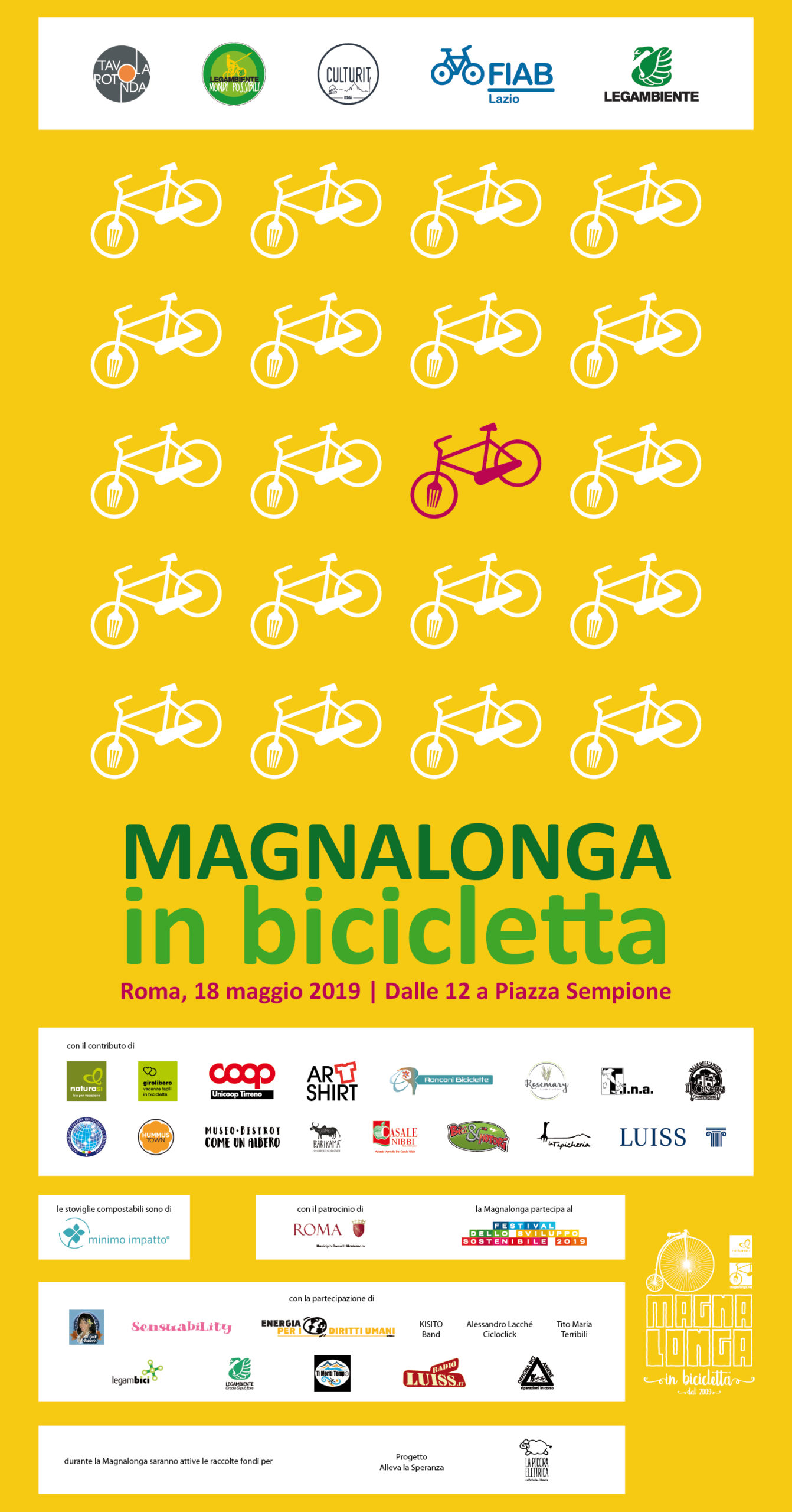 Magnalonga in bicicletta