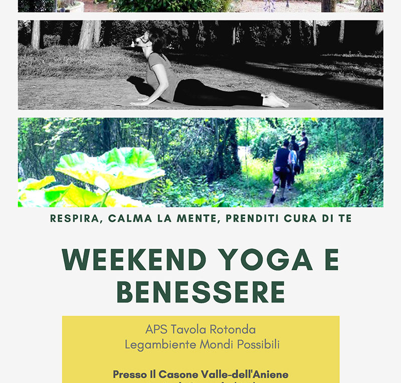 Weekend yoga e benessere