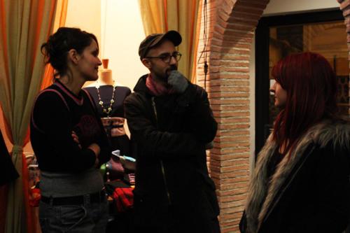 2009 mercatino di Natale a via Nizza