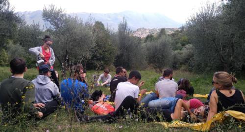 2019 Magnalonga a piedi Anticoli Corrado