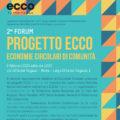 Secondo forum di comunità ECCO